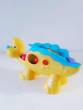 Dinosaurio Fisher Price lanza pelotas (Nuevo)