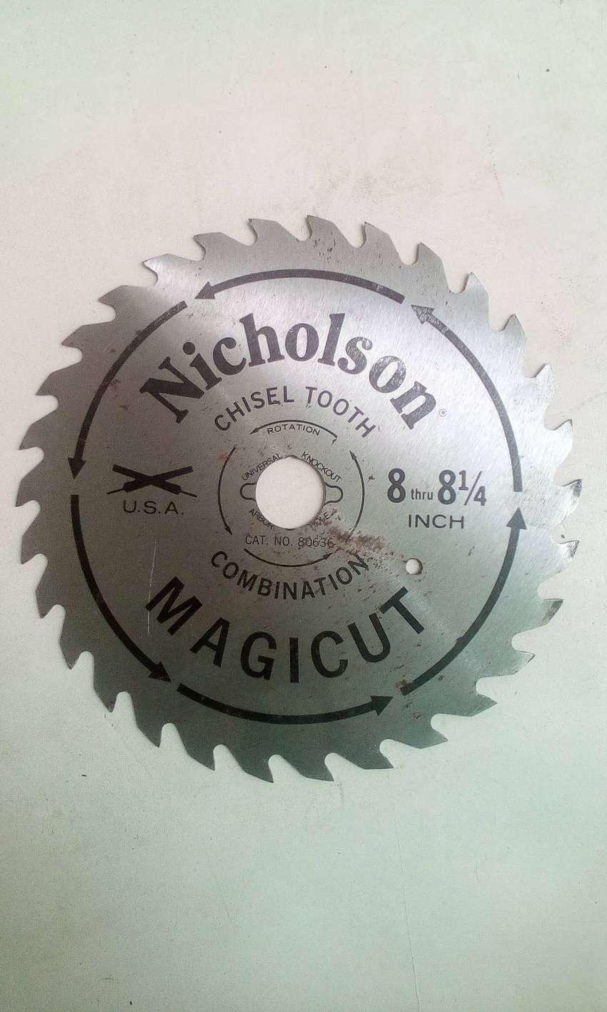 Vendo disco USA para madera Nicholson nuevo 0