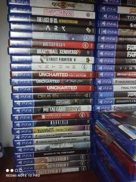 Juegos usados PS4 17/07/2021
