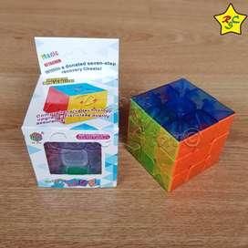 Cubo Rubik Transparente 3x3 Heshu Magic Cube Speedcube