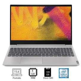 LAPTOP LENOVO IDEAPAD S340-15IWL i5-8265U 8GB RAM 128GB SSD 15.6