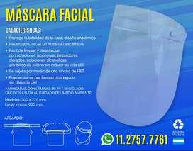 Mascara facial no daña la piel prevencion saliva ,estornudos