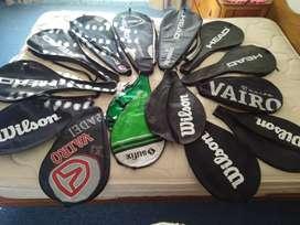 Raqueteros originales todos sin uso