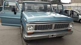 Fordo F100 como nueva