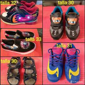 Vendo zapatos niño