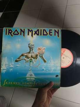 LP ROCK IRON MAIDEN