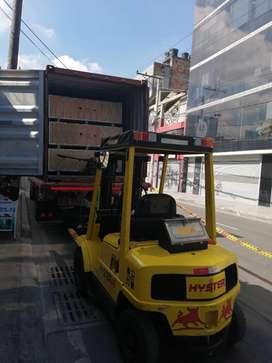Montacarga hyster 2 toneladas 6. 500 horas de uso