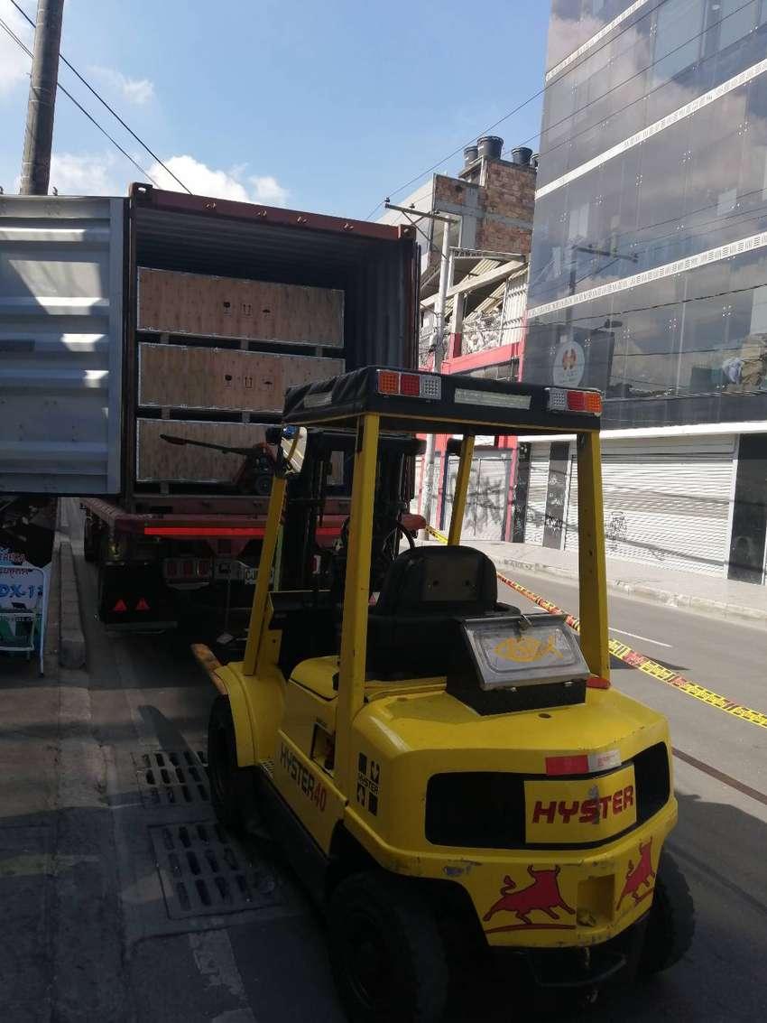 Montacarga hyster 2 toneladas 6. 500 horas de uso 0