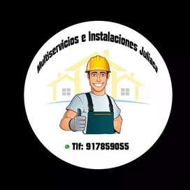 Multiservicios: Realizamos Trabajos En Drywall, Electricidad, Gasfiteria, Pintura, Instalamos Pisos Laminados Y Mas.