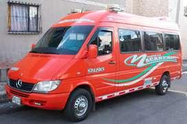 Sprinter 313 modelo 2013 para servicio corriente - Microbus intermunicipal