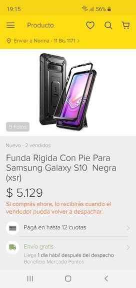 Vendo 2 fundas p/Samsung S10e