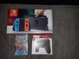 Nintendo Switch como nueva muy poco uso