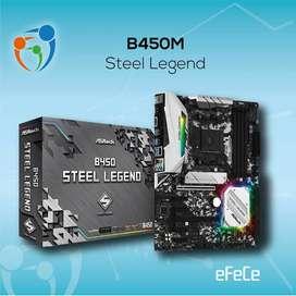 Motherboard Asrock B450m steel legend