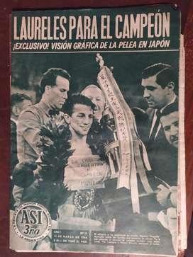 revista asi numero 15 accavallo campeon del mundo