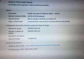 Se vende portatil Hp