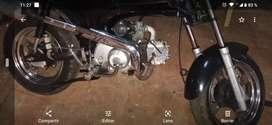 Vendo permuto moto tipo dax