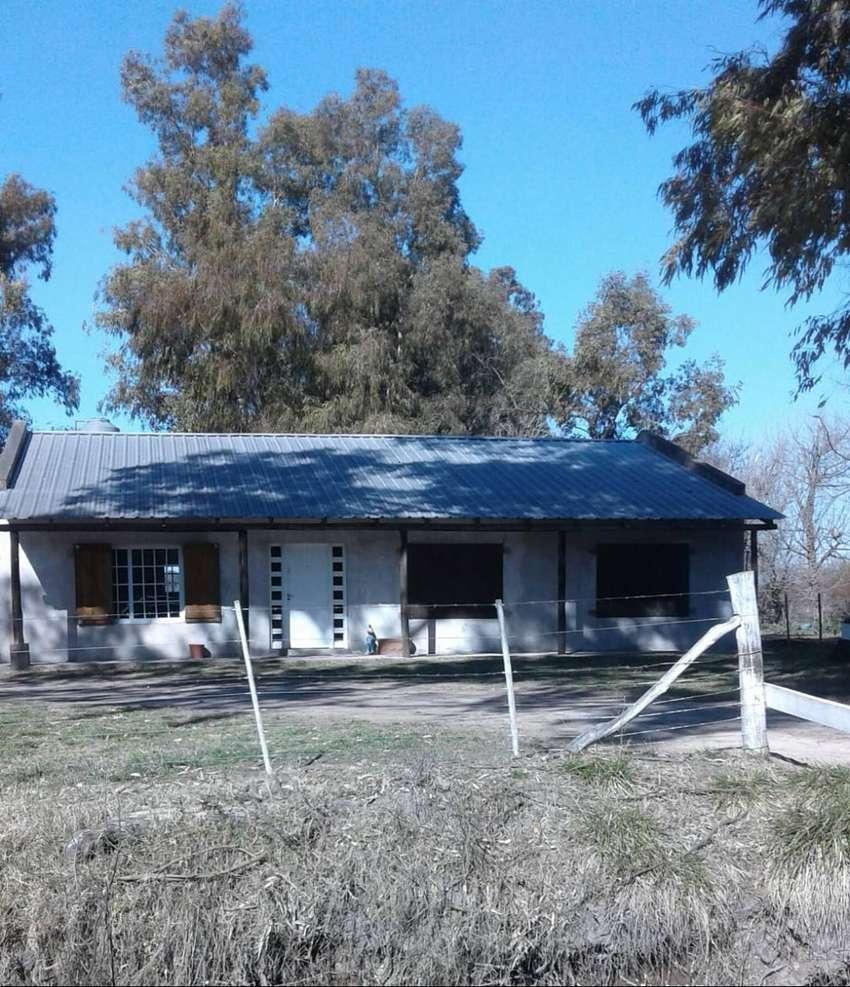 Chacra-Campo De 7 Has  con casa 160m2  nueva Vendo