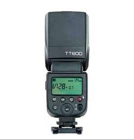 Flash Godox Tt600 Para Nikon Canon O Sony