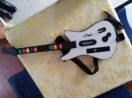 Guitarras Xbox 360 funciona guitar hero y rockband