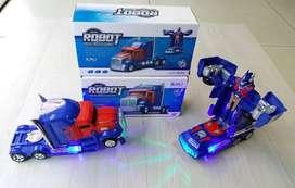 Camion Transformers Optimus Prime con Luz y Sonidos