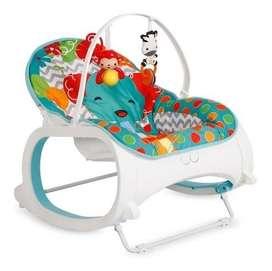 silla mesedora vibradora para bebes