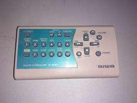 Control remoto aiwa
