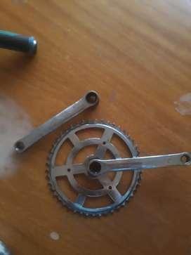 Plato mas palancas de bici