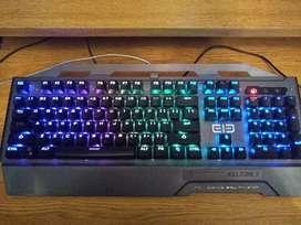 Teclado mecánico Eleenter Game 2 Original RGB GAMING ANTISPLASH