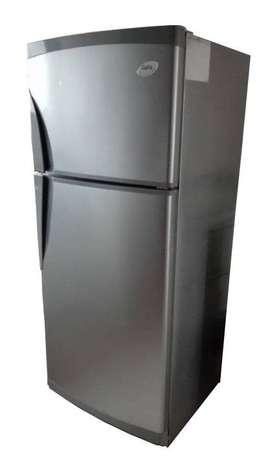 Heladera Con Freezer Gafa Gris Plata 281 Lts.