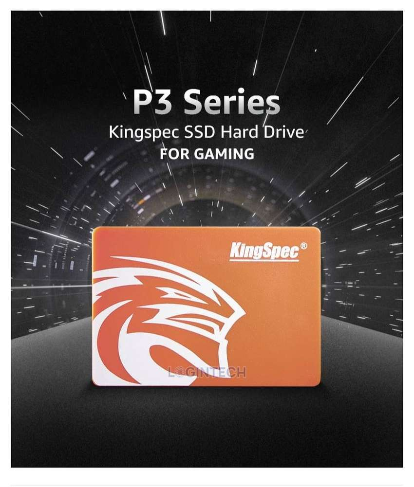 Discos Solidos KingSpec SSD 120GB SATA3 Disco duro interno de estado sólido para portátil o PC de 2.5 pulgadas