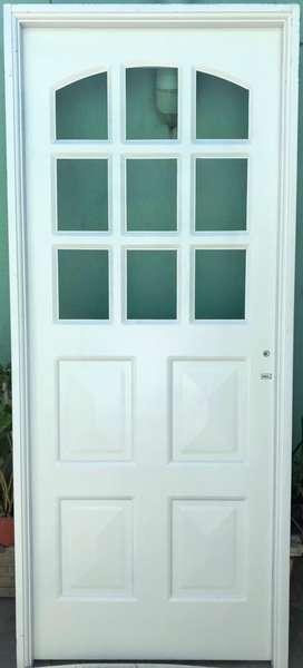 Puerta exterior de chapa - Ituzaingó