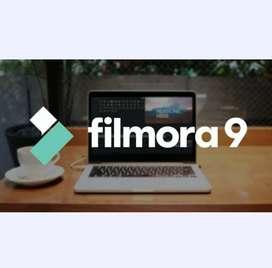 Filmora9 V9.4.5  2020 licencia permanente
