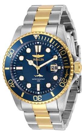 Invicta Pro Diver Reloj /hombre con correa de acero inoxidable, dos tonos