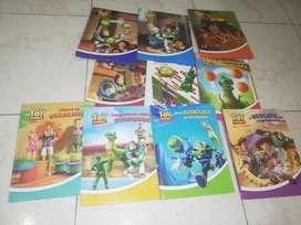 Colección de libros de toy store son 10