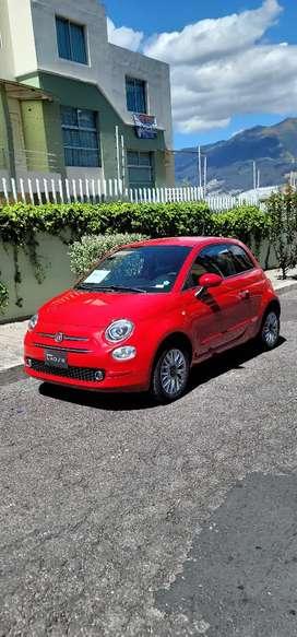 Fiat 500 año 2020 con 1500km 2 meses de uso