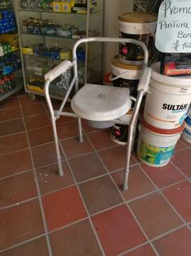 Asiento sanitario para adulto mayor