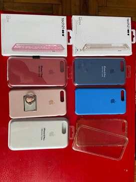 Vendo Fundas para IPhone 7/8Plus. Usadas. 1x $400 2x$600