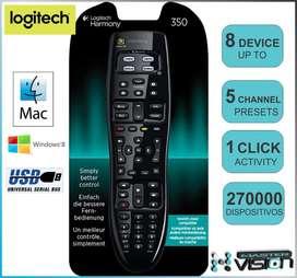 CONTROL REMOTO  HARMONY 350 LOGITECH MASTERVISION HDTV - HED ELECTRONICS