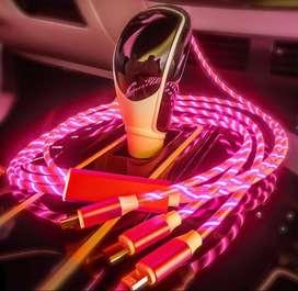 Cable usb cargador para coche