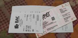 Entrada Concierto de Slipknot, General