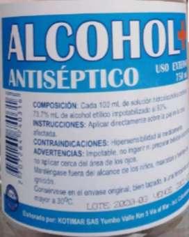Desinfectante antiséptico
