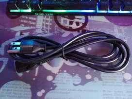 Cable de poder o fuente de alimentación