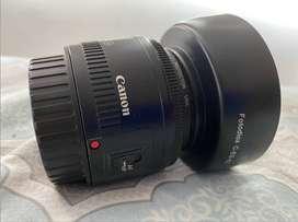 Lente Canon EF 50 mm f 1.8