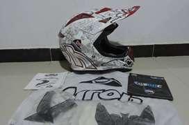 Casco Airoh Aviator Carbono Motocross Enduro Mx Fox Shoei