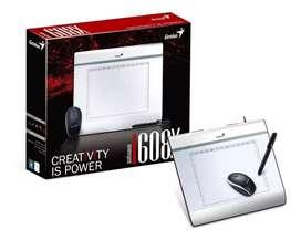 Tableta Digitalizadora Genius Mousepen I608x Con Mouse