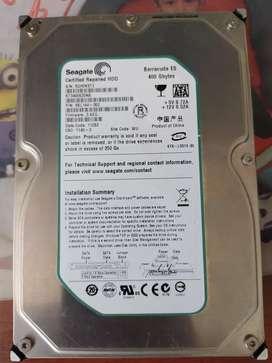 Disco duro para PC nuevo sin caja de 400 gb