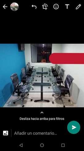 Mesas de Juntas en Vidrio
