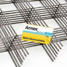 MALLA ARMEX ELECTROSOLDADA R 196  5.0 MM X10 X10