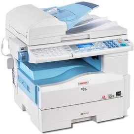 en promoción fotocopiadoras y computadores multinacional