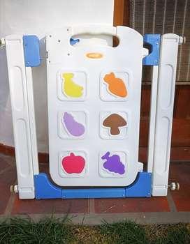 Puerta de seguridad importada para bebés y niños